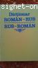 Dictionar Rus-Roman si Roman-Rus
